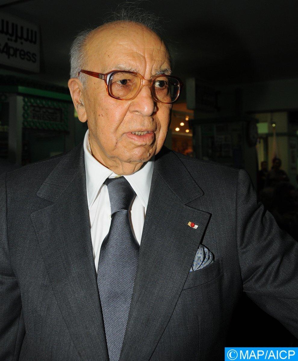 Décès de l'ancien Premier ministre marocain Mohamed Karim Lamrani