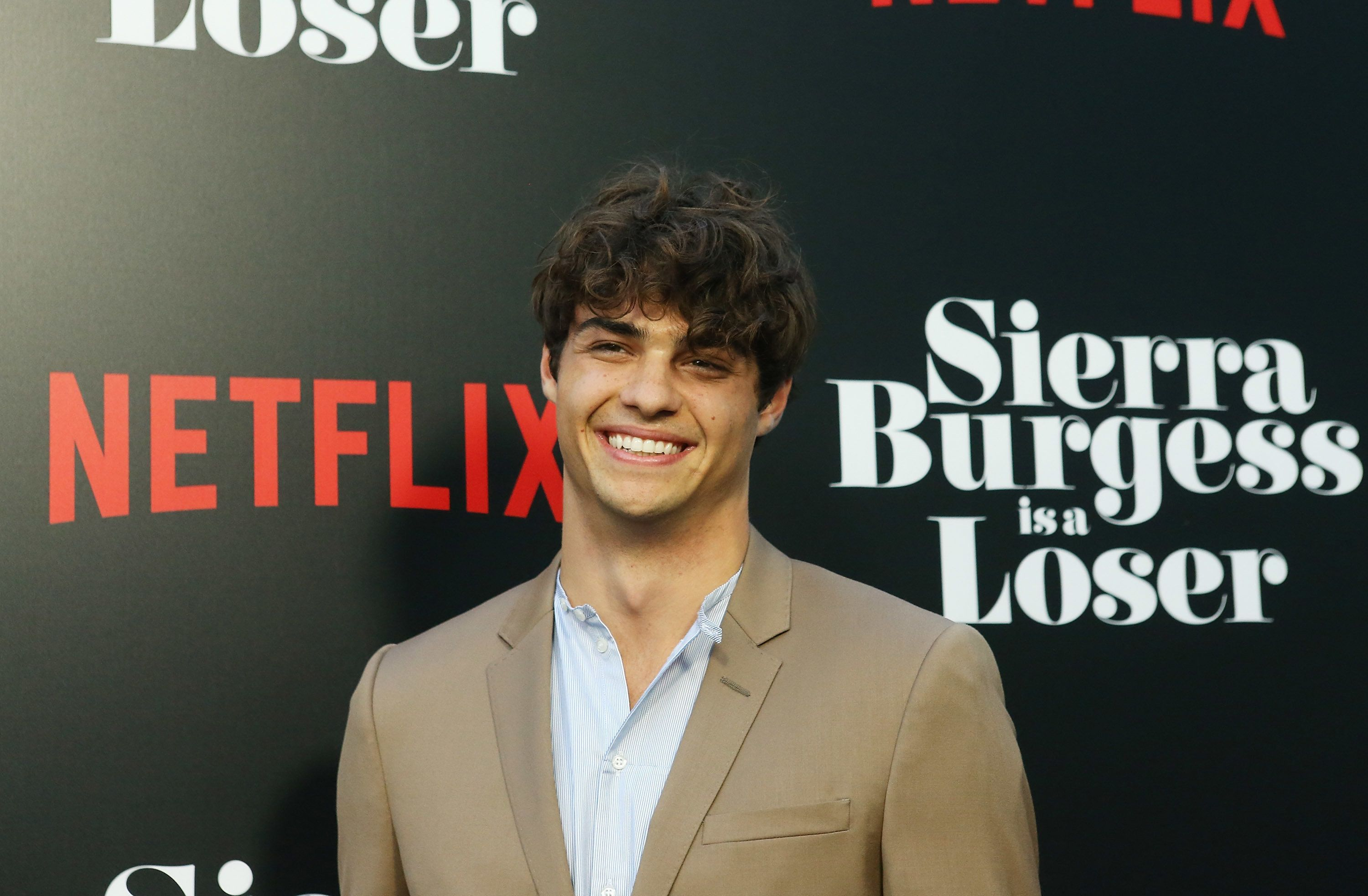 HOLLYWOOD, CA - AUGUST 30:  Noah Centineo arrives to the Los Angeles premiere of Netflix's 'Sierra Burgess Is A Loser' held at ArcLight Hollywood on August 30, 2018 in Hollywood, California.  (Photo by Michael Tran/FilmMagic)