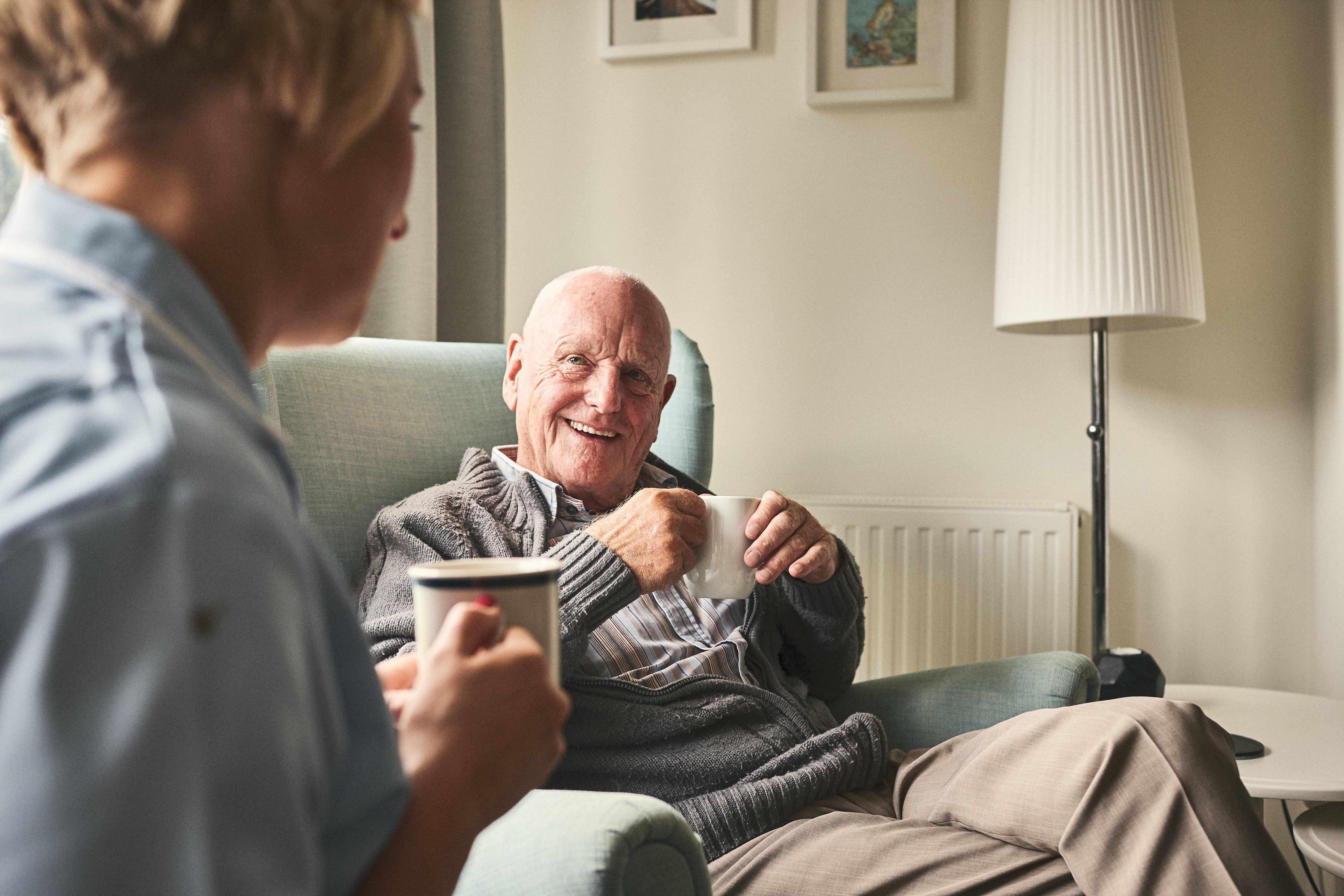 Care homes will be among those facing cuts (file