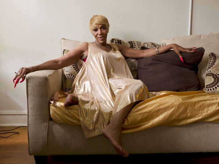 """Caprice, 55, Chicago""""I'm a 55-year-old woman of trans experience, and I'm a woman of color. And my life is amazing. I have been working in the field of social service for 17 years. I have been an activist and advocate for trans women of color and trans-identified individuals for the majority of my life. My life relies upon me being able to give to my community, and my reward is when I see people take what I have given to them and do something constructive with it. I want people to say, 'She showed me how to do this. She taught me how to do that.' That is my gift. My mom taught me how to open my eyes to this particular gift. God blessed me with the whole thing. I am the greatest gift I have to offer."""""""