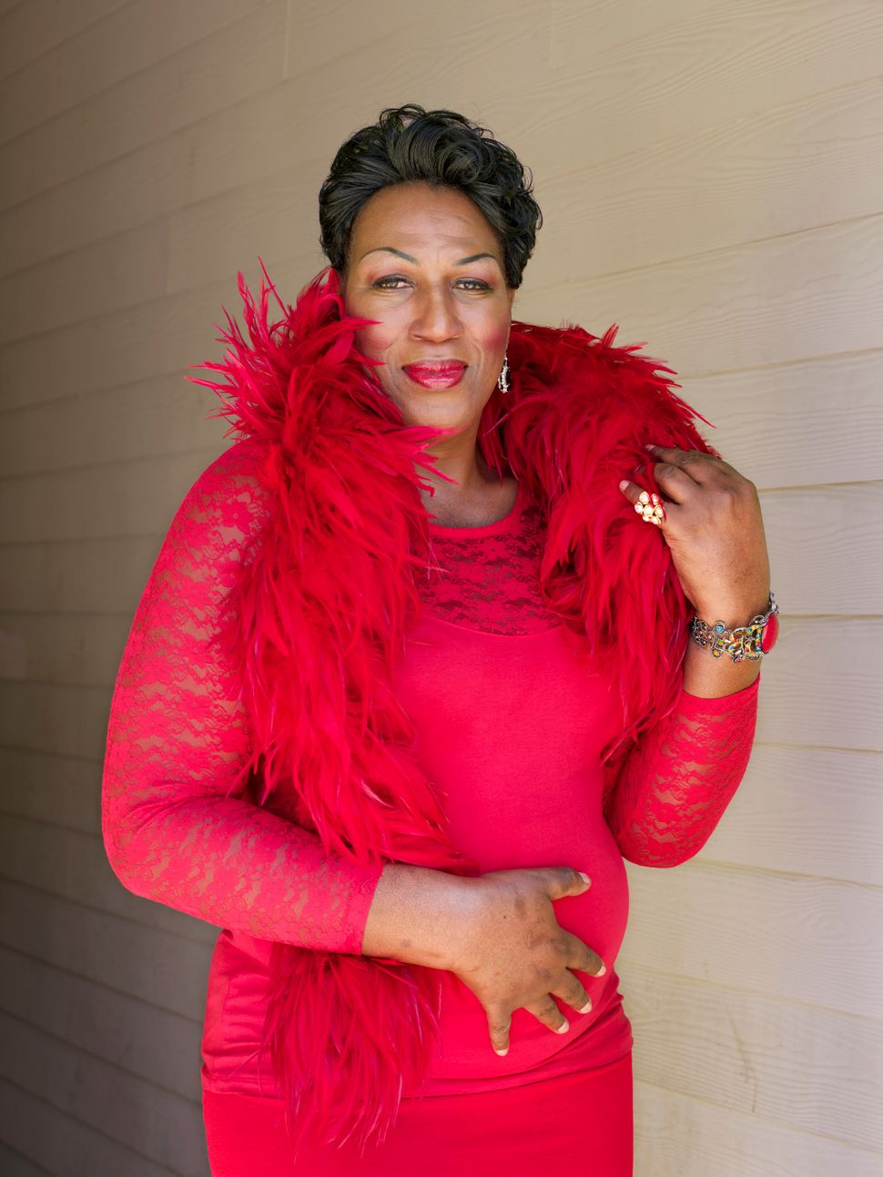 "Dee Dee Ngozi, 55, Atlanta""This coming into my real, real fullness of knowing why I was different is because I was expressing my spirit to this world. And I didn't know how God felt about it, but I believe in God, and I have a deep spiritual background, and I talk with the Holy Spirit constantly, who's taken me from the Lower West Side doing sex work to being at the White House."""