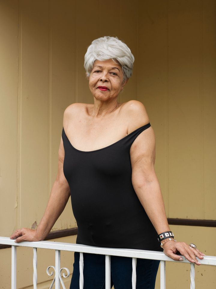 """Dutchess Milan, 69, Los Angeles""""My mother said when you die, you stand there before the light, and you say, 'Was I worthy of myself to know that I have liked me?' OK? I like me. OK? And I will tell the whole chorus, honey, 'I like me.' I don't hurt anybody, I don't do anybody wrong, you know. I've dealt with everything I can, as much as I can. So just find that inside yourself and take time with that person. Faults, flaws, wishes, all of it — it doesn't matter. We're not going to get it all. None of us gets it all. OK? But what we do have, we can polish. We can polish it, honey, till it blinds them."""""""