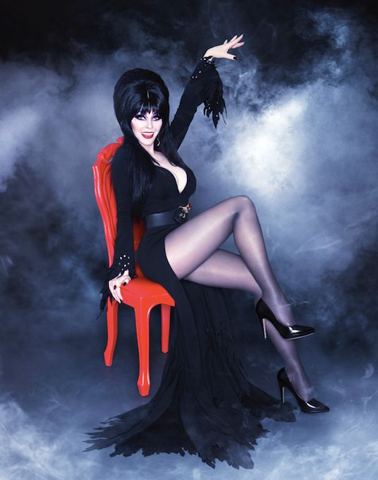 Cassandra Peterson says Elvira's look was inspired by Kabuki makeup, The Ronettes and the '80s.