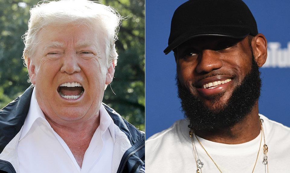 LeBron James Not Bothered When Donald Trump Calls Him