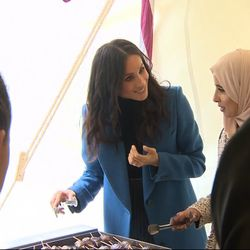 Meghan Launches Cookbook With Grenfell