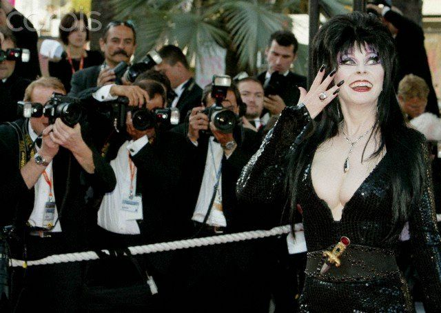 Cassandra Peterson at the Cannes Film Festival in 2003.