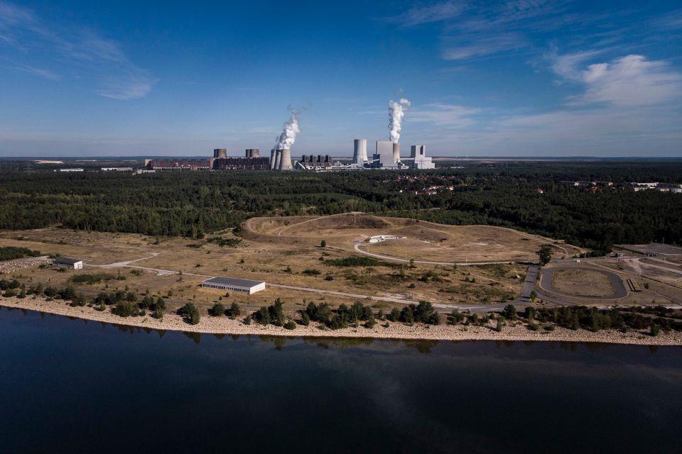 Ein Kohlekraftwerk in