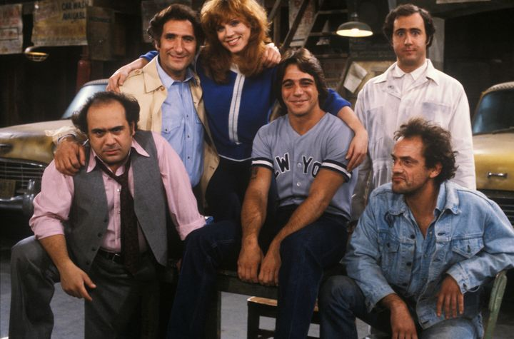 "The cast of ""Taxi"" in 1981."