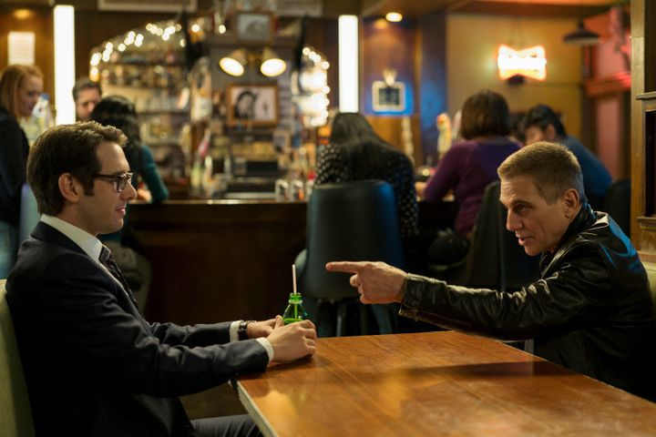 Groban and Danza star in &quot;The Good Cop&quot; on Netflix.<i></i><i></i>