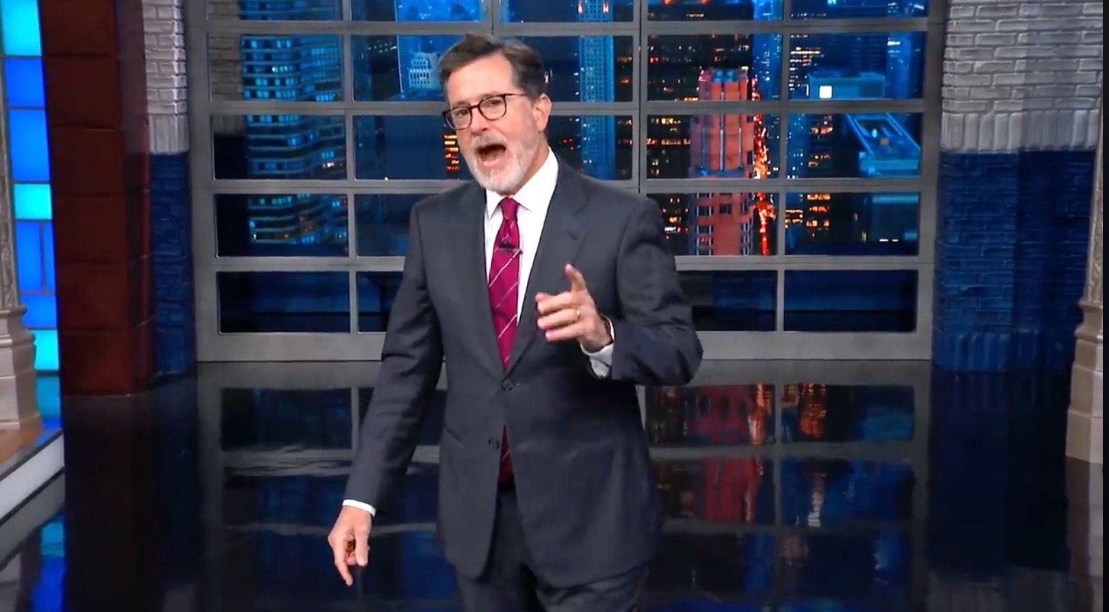 Colbert Shows How GOP Senators Really Feel About 'Mouthy' Sexual Assault