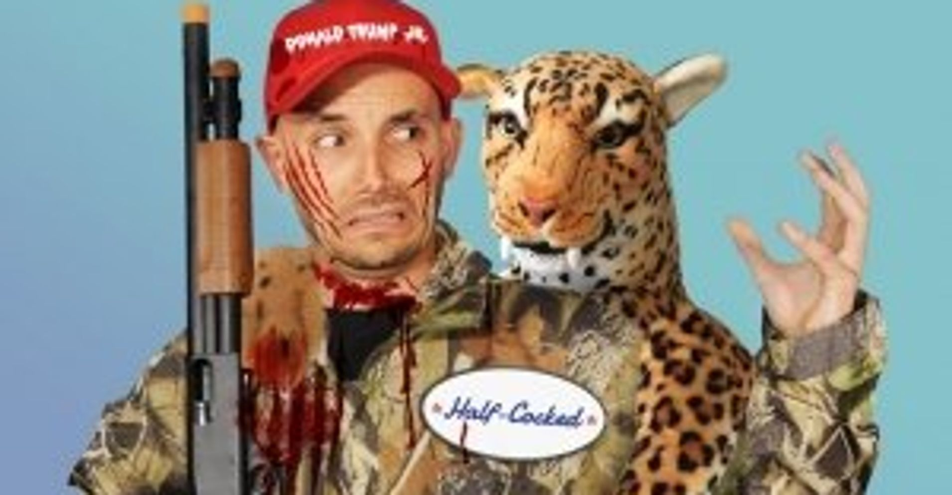 Now You Can Dress Up Like 'Big Game Hunter' Donald Trump Jr. | HuffPost