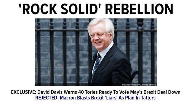 Αντάρτικο στους Τορις; Προειδοποίηση σε Μέι πως 40 βουλευτές είναι έτοιμοι να καταψηφίσουν την πρόταση...