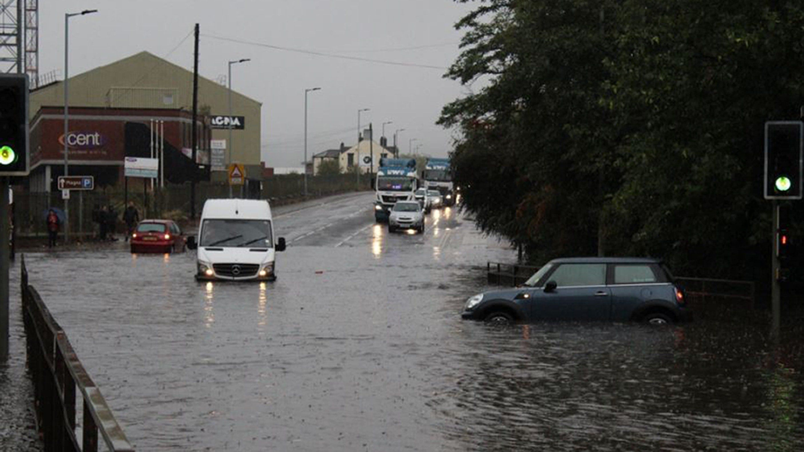 Storm Bronagh Brings Gale-Force Winds And Flooding To England And