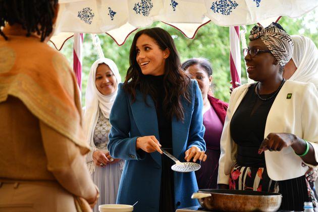 Looks We Love: Meghan Markle's Royal Blue