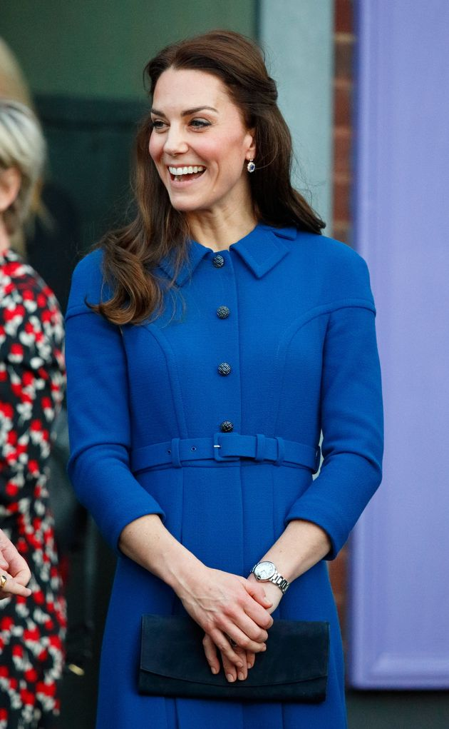 89e4521fb67 Looks We Love: Meghan Markle's Royal Blue Coat | HuffPost UK