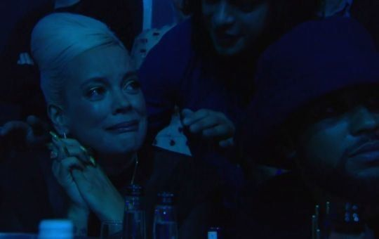 TEARY: Emotional Lily Allen Jokes That She Was 'Robbed' Of Mercury Prize After Wolf Alice