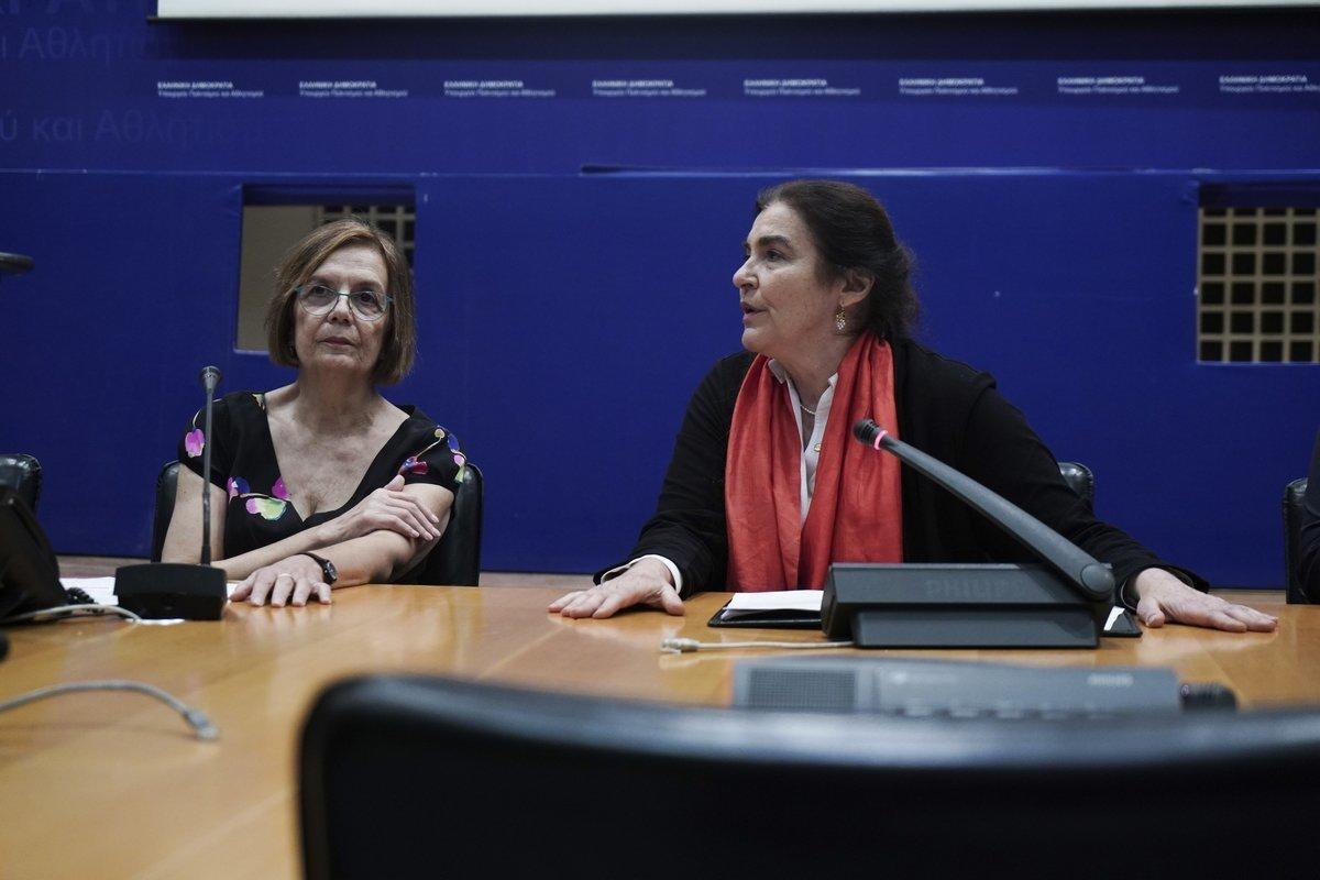 Η Μυρσίνη Ζορμπά «δείχνει» Κονιόρδου για τη σύγχυση με τα μνημεία και το