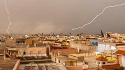 Fortes averses orageuses dans plusieurs régions du Maroc ce vendredi