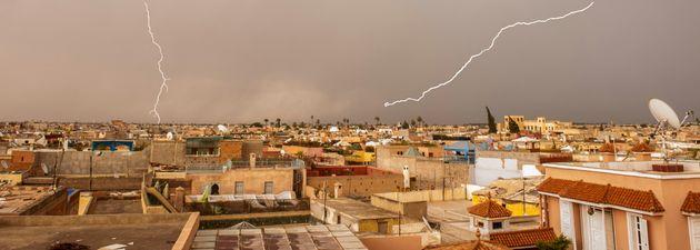 Fortes averses orageuses et chaleur dans plusieurs régions du Maroc dès