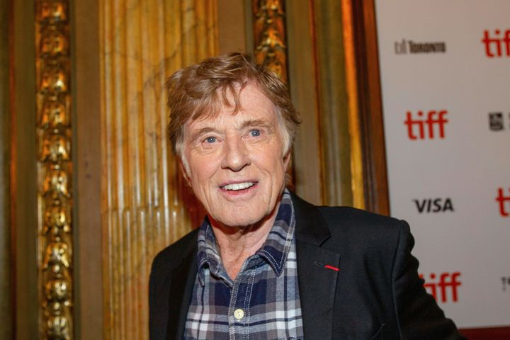 Robert Redford attends the premiere of 'The Old Man and the Gun' at the Toronto International Film Festival.