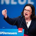Brief an Merkel: Nahles fordert eine Neuverhandlung des
