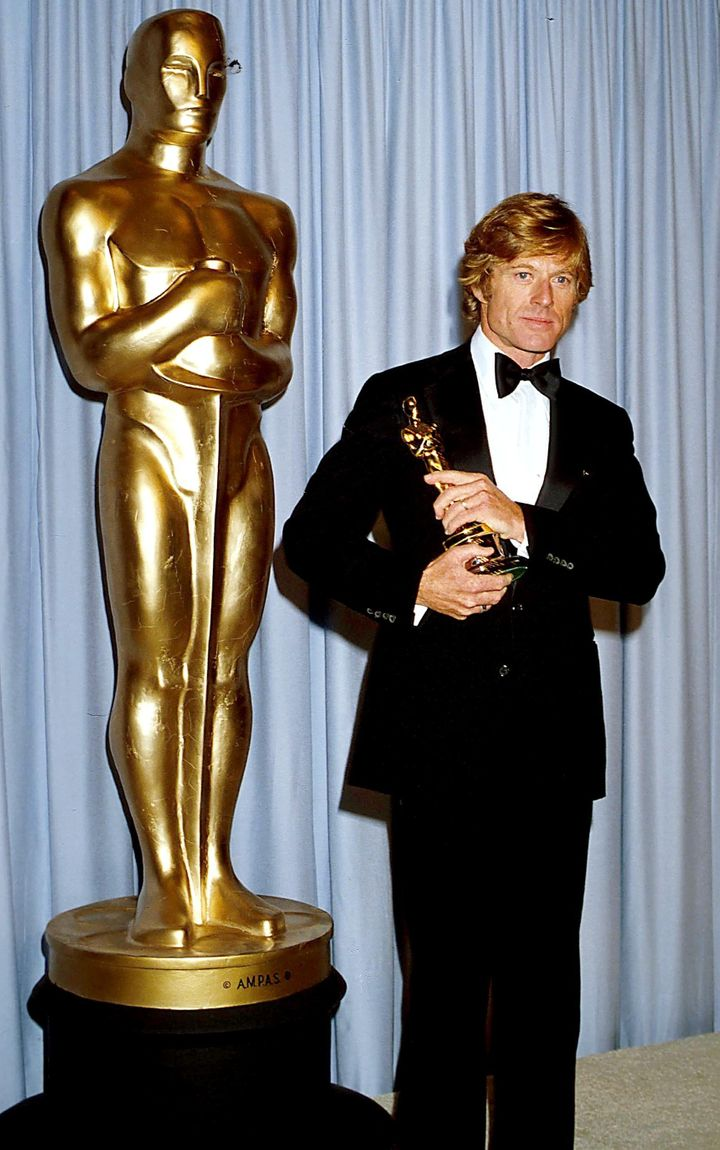 Robert Redford at the 1981 Oscars.