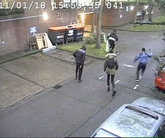 CCTV of Harry Uzoka being
