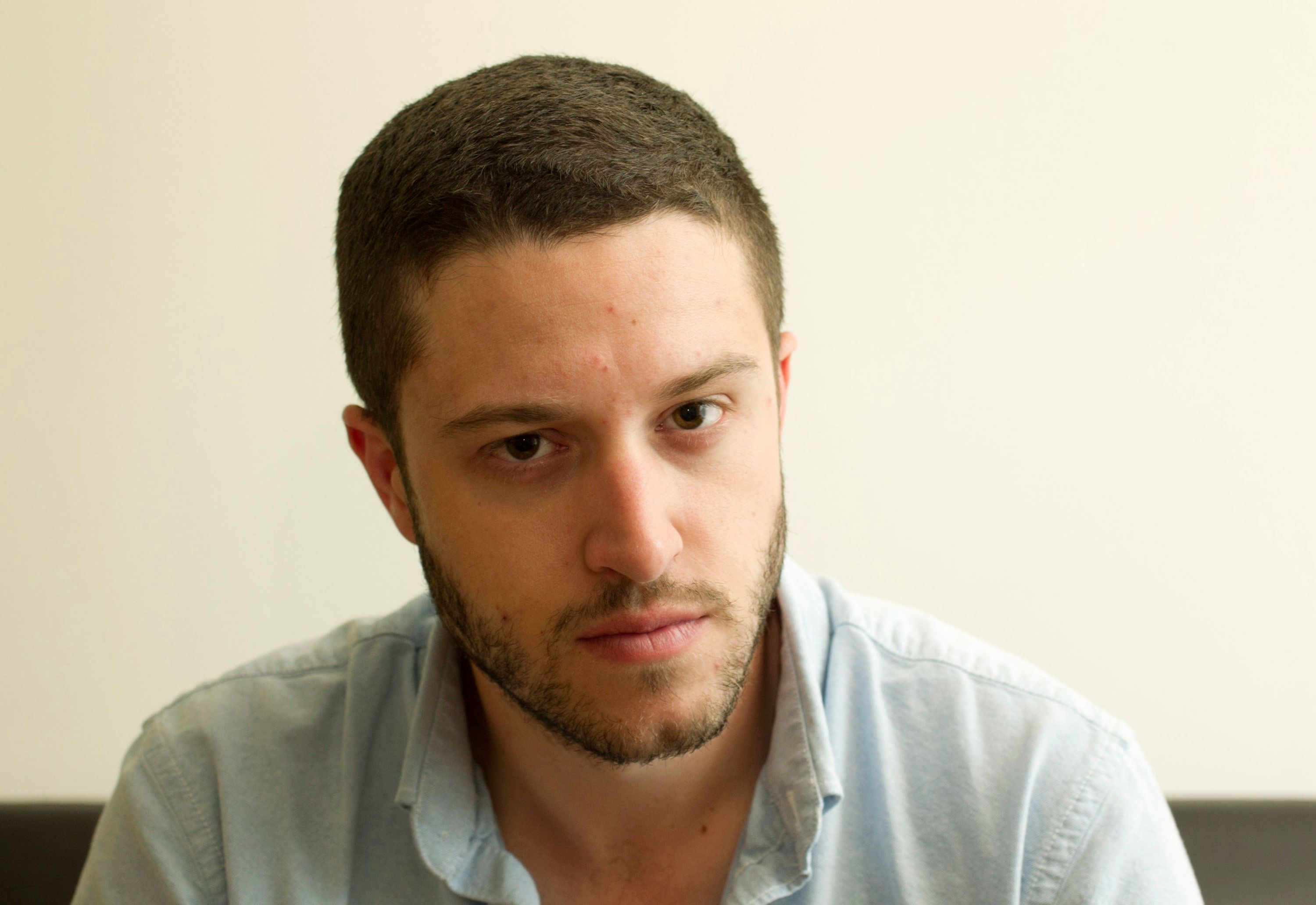 Cody Wilson made the first completely 3D-printed handgun, The Liberator, at his home in Austin, Texas on Friday May 10, 2013. (Photo by Jay Janner/Austin American-State/TNS/Sipa USA)