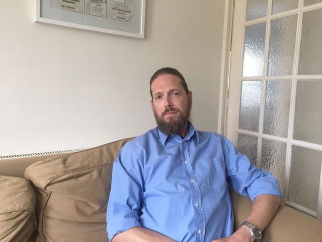 Andy Evans was infected with HIV aged five through contaminated blood products