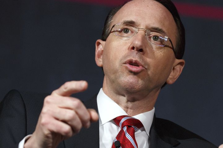 Deputy Attorney General Rod Rosenstein reportedly made comments in spring of 2017 in which he suggested that he covertly reco