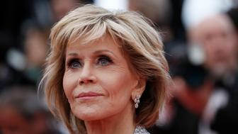 "71st Cannes Film Festival - Screening of the film ""BlacKkKlansman"" in competition - Red Carpet Arrivals - Cannes, France May 14, 2018 - Jane Fonda arrives. REUTERS/Stephane Mahe"