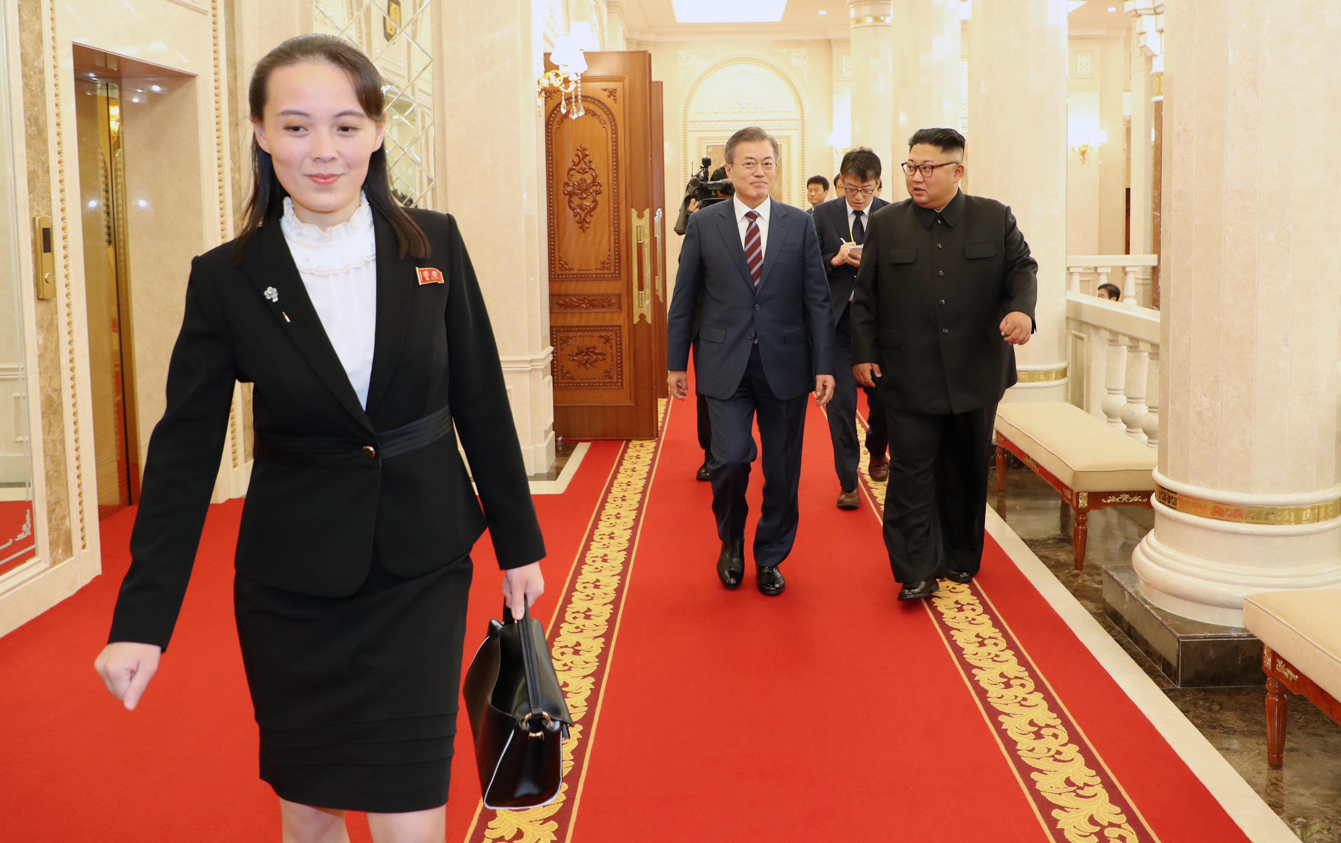 박지원이 평양에서 북한 중요 인사에게 들은 '김여정이 핼쑥해 보이는