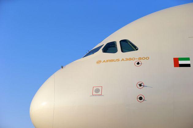 사진은 에티하드항공이 운용중인 에어버스 A380의