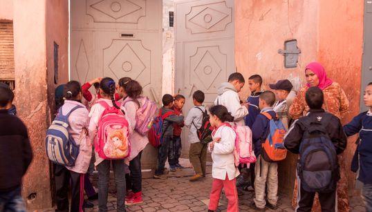 38.740 élèves marocains ont abandonné l'école primaire en