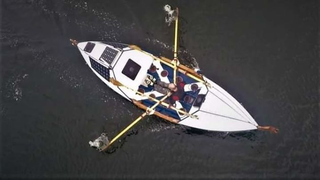 Fundraiser Rowing Across Atlantic On Self-Made Boat Rescued Off Land's