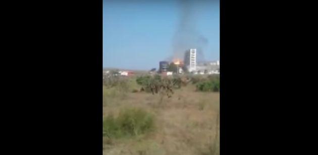 Kénitra: L'incendie d'une usine de production d'éthanol et de gaz carbonique a été