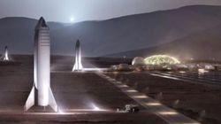 Elon Musk partage des photos de sa future base sur