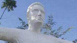 Après la statue ratée de Ronaldo, la statue ratée de