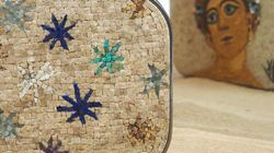 De la mosaïque traduite en accessoires: Ces minaudières Pellegrino, inspirées de la