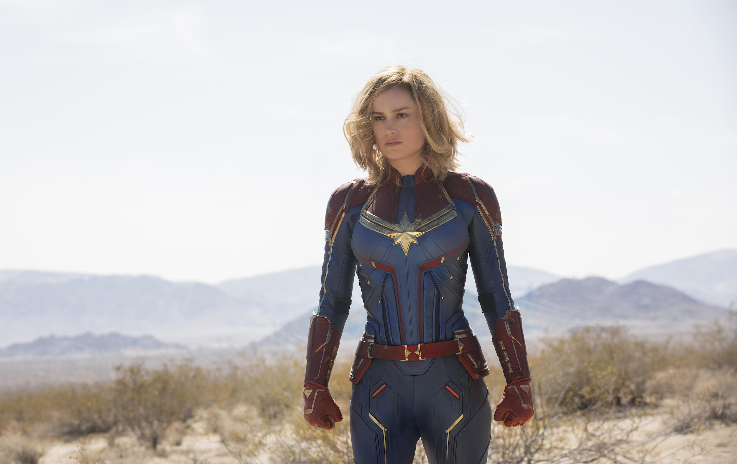 'Captain Marvel' Comic Writer: She Always Gets Back Up Because 'F**k You'