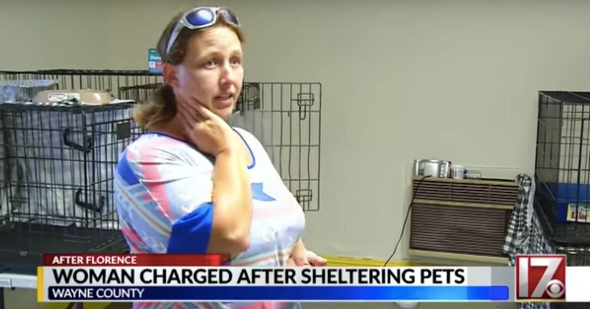 Woman Who Took In Pets During Florence Faces Charg...