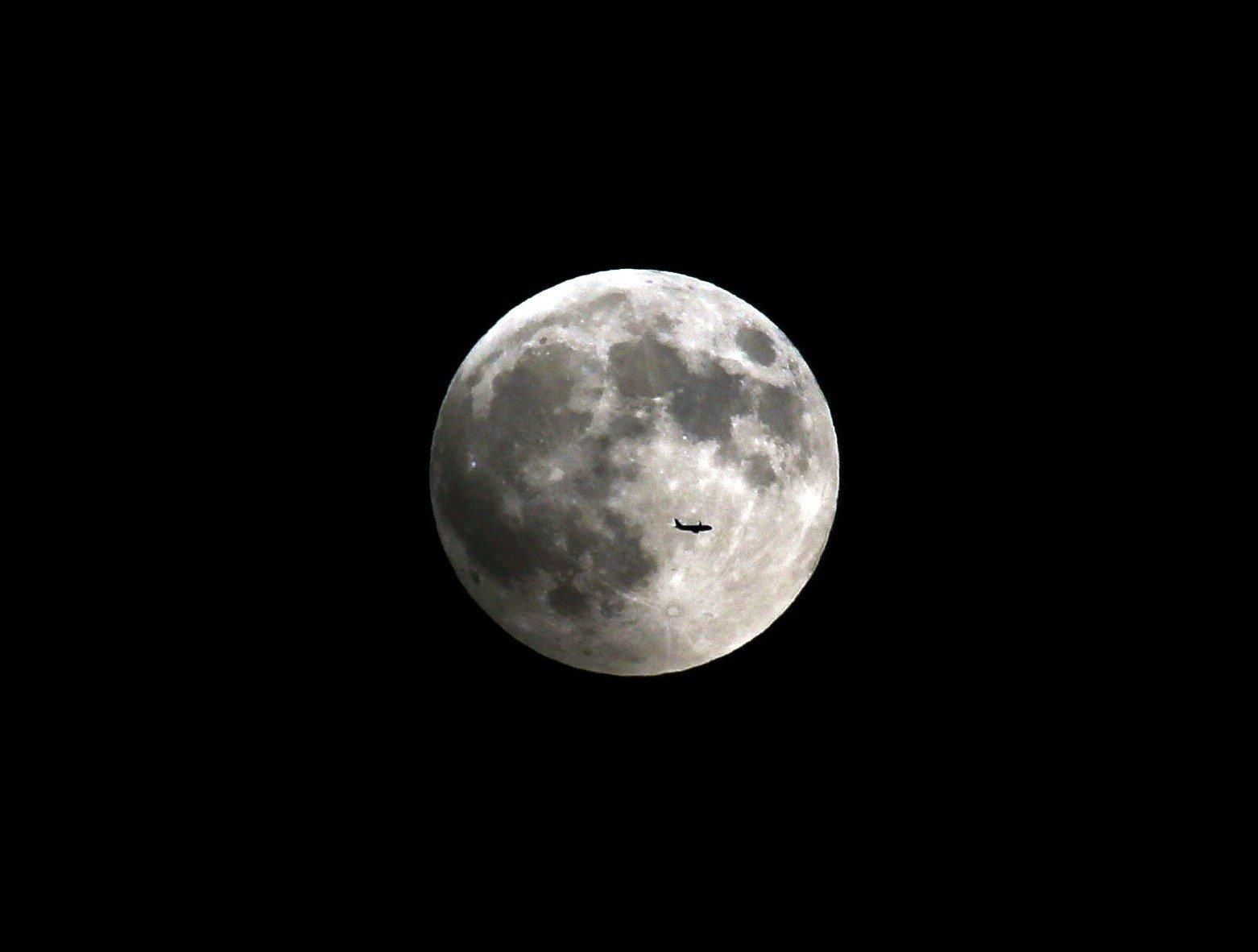 추석 당일 전국에 보름달이