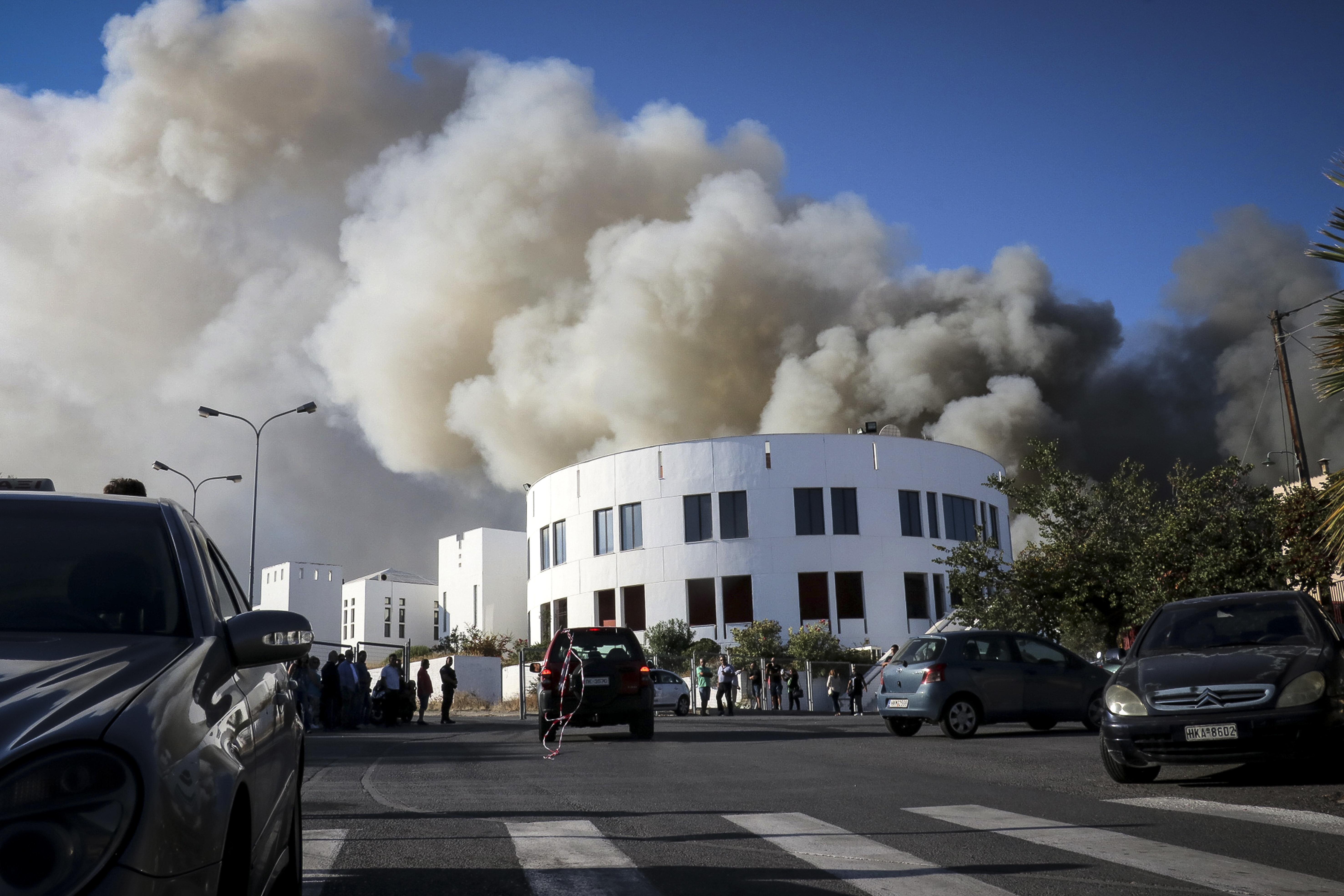 Μεγάλη φωτιά στο Πανεπιστήμιο