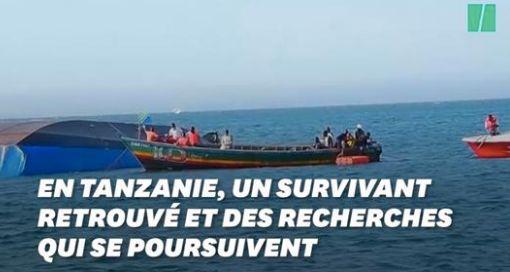 En Tanzanie, trois jours après le naufrage sur le lac Victoria, un survivant a été