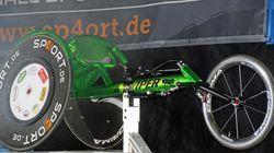 Passau - Neuer Renn-Rollstuhl für Alfred