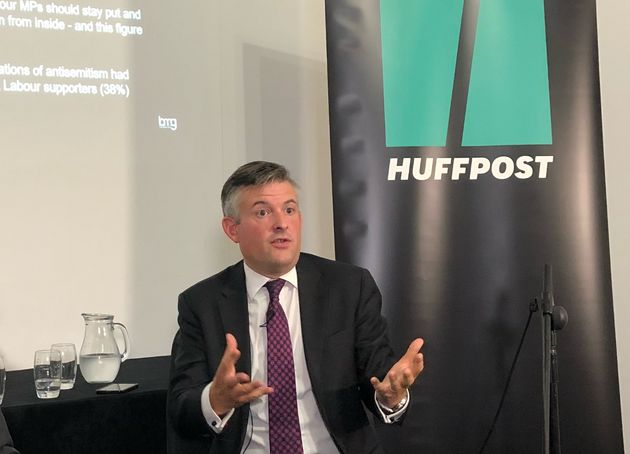 Shadow Health Secretary Jonathan Ashworth used an appearance at a HuffPost Waugh Zone Live event in Liverpool...