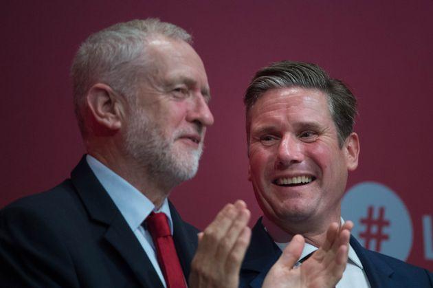 Jeremy Corbyn and Keir
