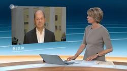 Scholz will im ZDF das Maaßen-Chaos schönreden – doch Slomka nagelt ihn