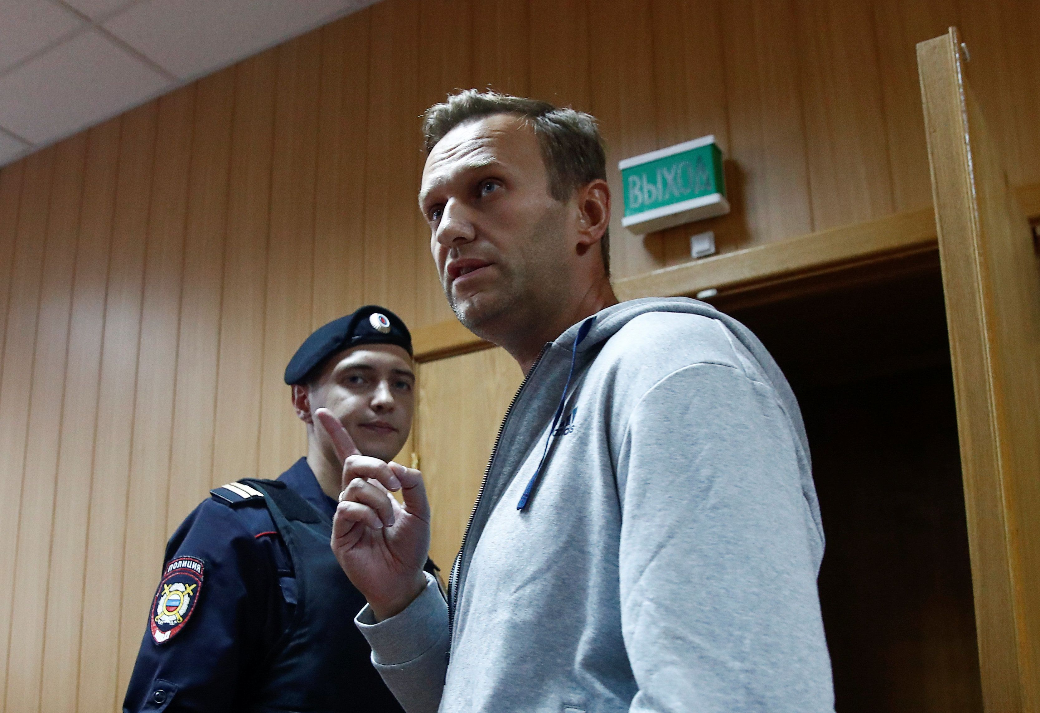 Navalny Detained Upon Release From 30 Days in Jail
