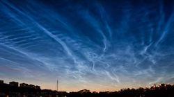 Η NASA κατέγραψε εικόνες από τα σπάνια μπλε σύννεφα και το θέαμα είναι σκέτη